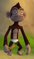 Barmy Banana Monkey