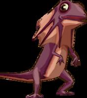 Big-Lidded Lizard