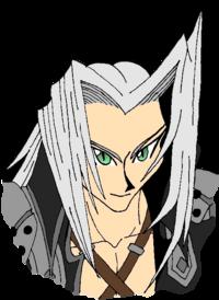 Sephiroth face