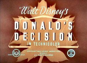 D decision