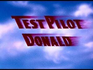 D test pilot donald