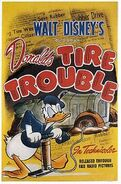 D tire trouble poster