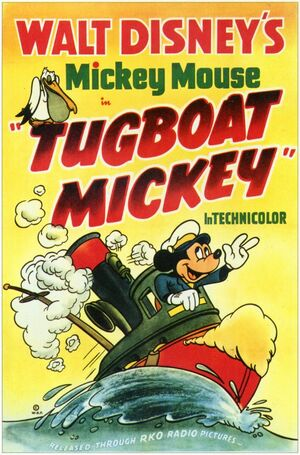 D tugboat mickey poster