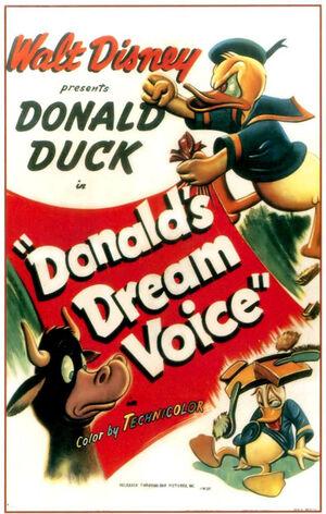D dream voice poster