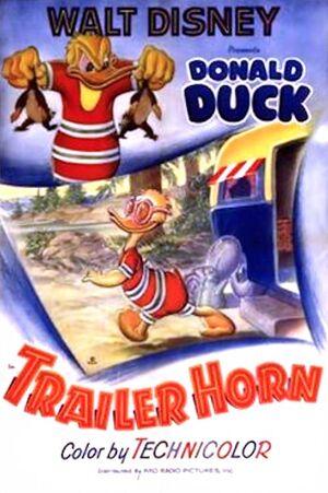 D trailer horn poster