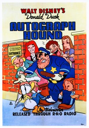 D autograph poster