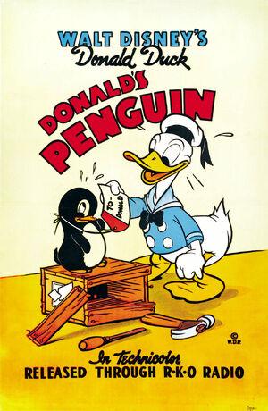 D penguin poster