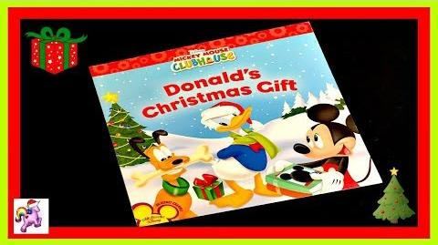 "DISNEY MICKEY MOUSE ""DONALD'S CHRISTMAS GIFT"" - Read Aloud - Storybook for kids, children & adults"