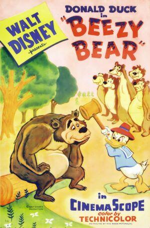 D beezy bear poster