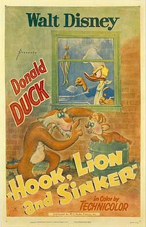 D hook lion poster