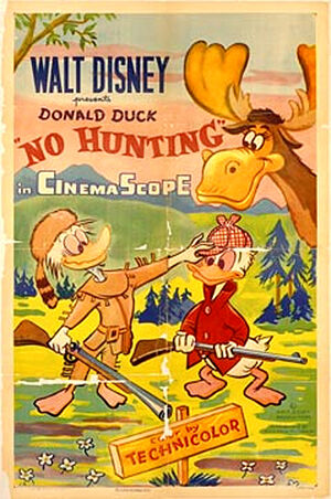 D no hunting poster