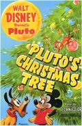D plutos xmas tree poster