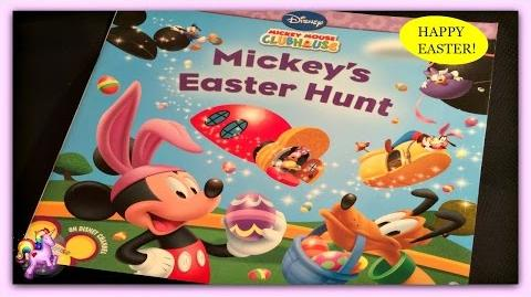 "DISNEY MICKEY MOUSE ""MICKEY'S EASTER HUNT"" - Read Aloud - Storybook for kids, children & adults"