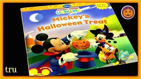 "DISNEY MICKEY MOUSE ""MICKEY'S HALLOWEEN TREAT"" - Read Aloud - Storybook for kids, children & adults"