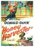 D honey harvester poster