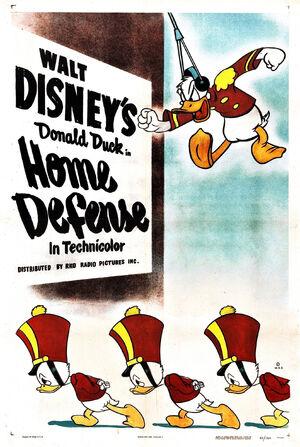 D home defense poster