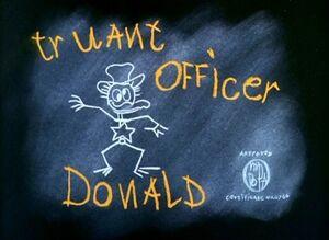 D truant officer