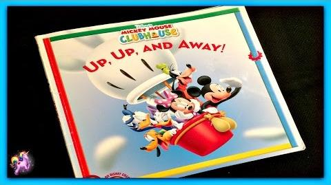 "DISNEY MICKEY MOUSE CLUBHOUSE ""UP, UP, AND AWAY!"" Read Aloud -Storybook for kids,children & adults"