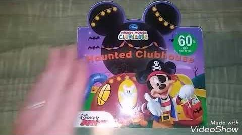 Mickey Mouse Clubhouse haunted Clubhouse read aloud for children