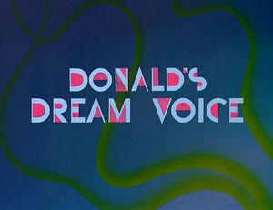 D dream voice