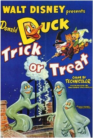 D trick or treat poster