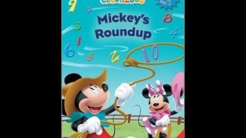 Mickey Mouse ClubHouse Mickey's Roundup Book