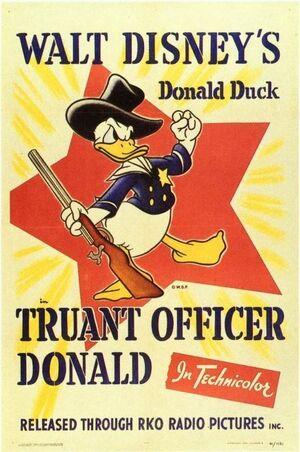 D truant officer poster