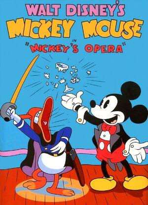 D mickeys grand opera poster
