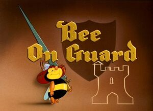 D bee on guard