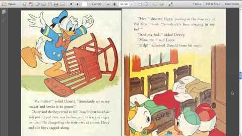 Donald Duck and the One Bear (read aloud)