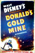 D gold mine poster
