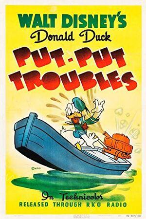 D put put troubles poster