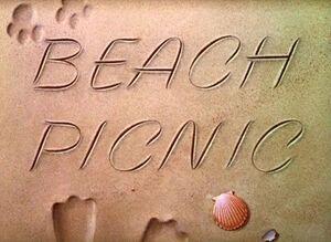 D beach picnic