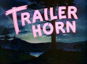 D trailer horn