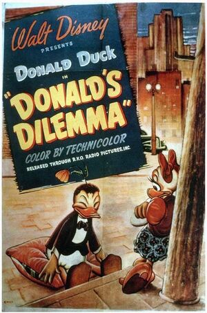 D donalds dilemma poster