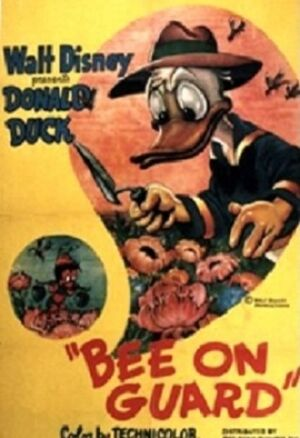 D bee on guard poster