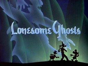 D lonesome ghosts title card