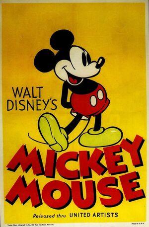 D mickeys service station poster