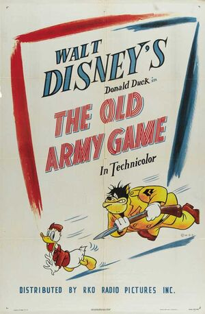 D the old army game poster