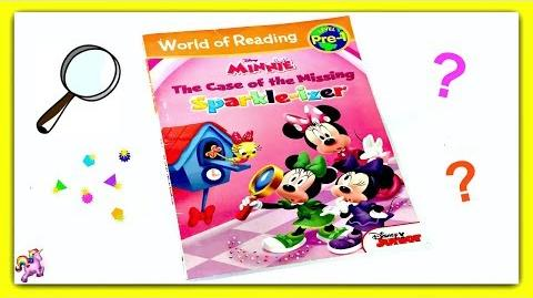 "DISNEY MINNIE MOUSE ""THE CASE OF THE MISSING SPARKLE-IZER"" Read Aloud Storybook"