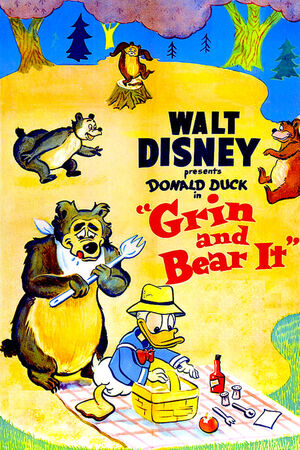 D grin and bear it poster