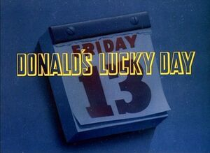 D lucky day