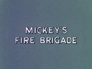 D mickey's fire brigade