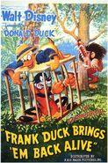 D frank duck poster