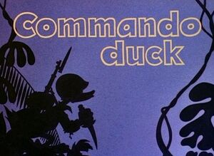 D commando duck