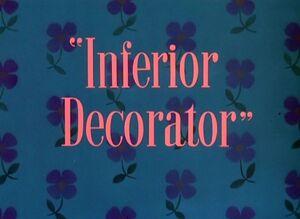 D inferior decorator
