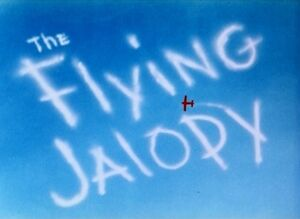 D the flying jalopy