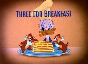 D three for breakfast