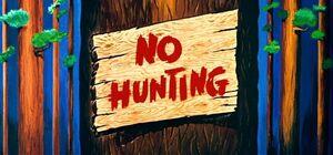 D no hunting