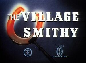 D the village smithy
